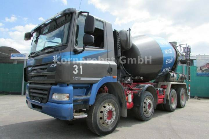 DAF CF 360 8x4 BB - STETTER 9 m³ - Nr: 950 - 2011