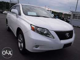 Lexus RX270 Year 2011 Model Automatic Pearl White Color