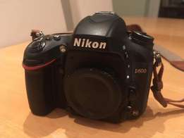 Nikon D600 - Boxed - Shutter Count Only 8,500! MINT CONDITION