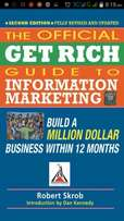 Get Rich Guide to Information Marketing Robert Scrob