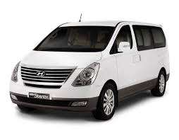 Hyundai H1 bus for hire