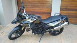 BMW F800GS MU with BMW Factory fitted Lowered Suspension