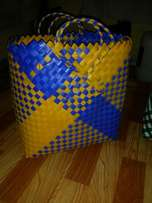 Durable different size fancy shopping baskets