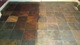 Slate and tile cleaning