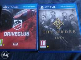 ps4 driveclub and the order 1886