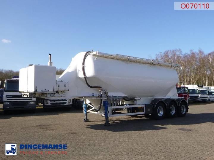 Feldbinder Bulk tank alu 36 m3 / 1 comp + engine/compressor - 2001