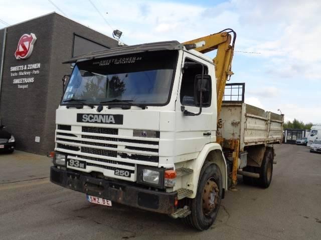 Scania 93 M 250 +verbiest - 1989