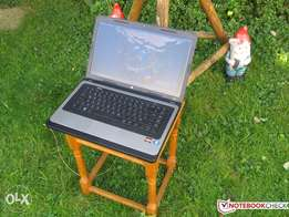 GRAPHICAL laptop HP 635 2GB 320GB webcam wifi dvd wr like new