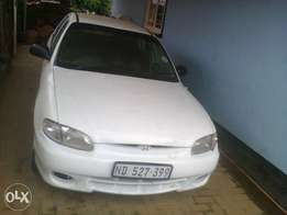 hyundia accent 1990 model car is in good condition