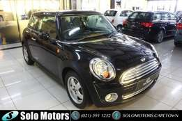 2010 Black Mini Cooper Hatchback