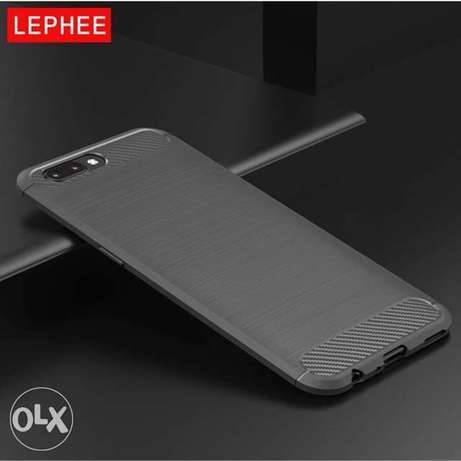 Oneplus 5 Case TPU Cover- Grey, Blue and Black colors.
