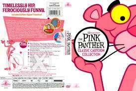 Pink panther cartoon five dvds collections