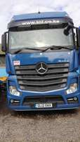 New shape Actros Mercedes benz