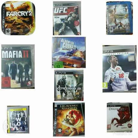Ps3 dvd games used org.