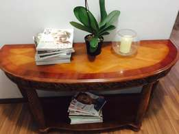 Wooden Entrance Hall Table