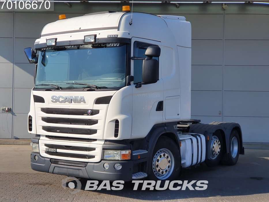 Scania G420 L 6X2 Retarder Lift+Lenkachse Euro 5 - 2012