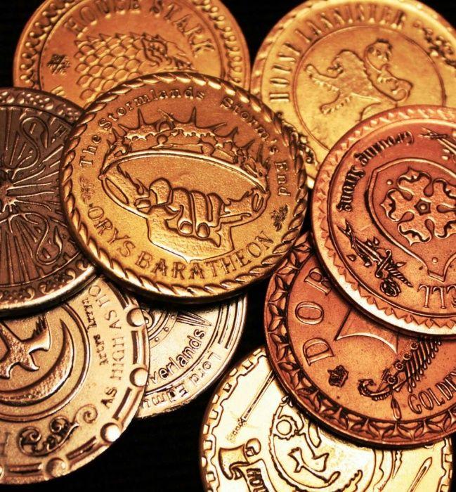 игра престолов как деньги