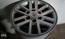 Toyota fortuner rims a set cheap
