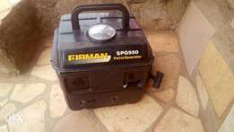 Two Months Old Firman Generator for Sale