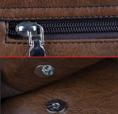 JEEP мужская кожаная сумка через на плечо. Чоловіча сумка Polo Поло Львів -  зображення 6 98d709bdde2d5