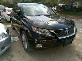 Toyota Lexus Rx 350 KCM number 2010 model loaded with alloy rims,