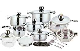 Brand New Swiss Cookware 21pcs