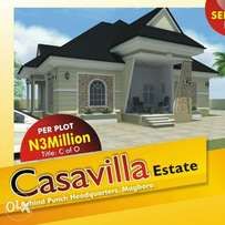 Casavilla Estate Magboro now selling #3 Million only
