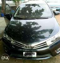 Few months used Toyota Corolla