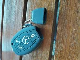 Stylish Rubber Cover for Mercedes Benz Keys