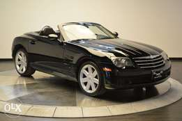 Chrysler Crossfire SRT 3.2 Convertible Black
