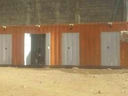 Converted 40ft container, Delivered, Nairobi