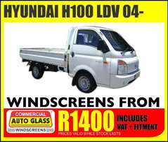 Hyundai H100 windscreen specials