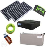 Promo - 1KVA Solar Energy Complete Package, Pay On Delivery