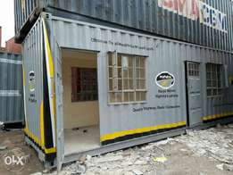 Container fabricated accommodation and commercial houses