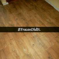 Vinyl wood like carpets now available. Courtesy Fracan Group Limited
