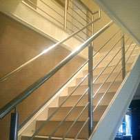 Balustrades and staircases