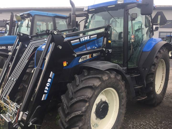 New Holland Ts 115 A - 2004