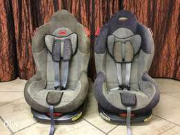 2 Car seats for sale - Very good condition