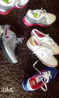 Original LEVI'S, NIKE'S & ADDIDAS women sneakers/Trainers