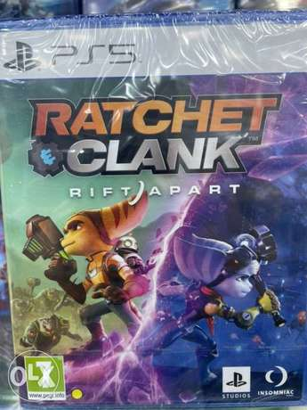 Ratchet and Clank Ps5 (New!)