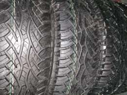 New Tyres M + S Cross Contact 265/65/R17 112T Tyres and hilux mags for