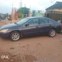 2003 Reg Honda EOD with V6 engine,leather seats available for 750k