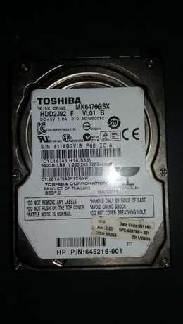 """640GB 2.5"""" (Laptop) HDD sale Centra Hill - image 1"""