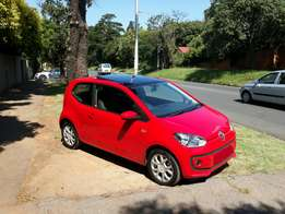 VW Up! Move up with pano roof for sale.