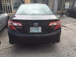 Foreign Used 2012 Toyota Camry SE - Black