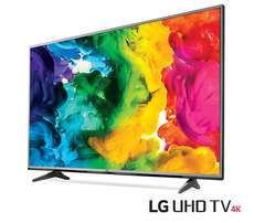 LG 43 Inch Ultra HD 4k smart Tv at our shop