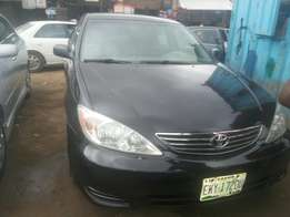 Registered toyota camry for sale.