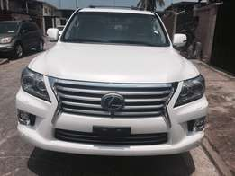 Direct Tokunbo and very clean and neat Lexus LX570.
