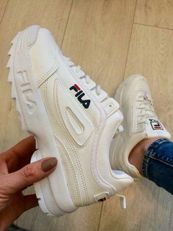 Buty damskie Fila Disruptor II. Kolor biały. Rozmiar 36,37