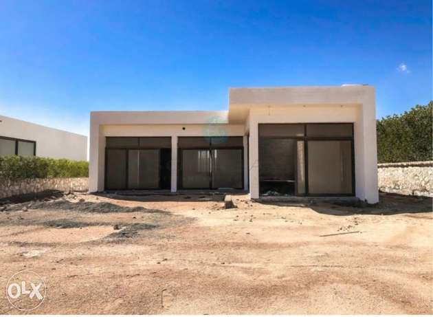 Ready to move stand alone in soma bay beach front with 5years plan الغردقة -  3